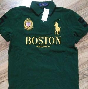 New Boston Ralph Lauren Big Pony City Polo Shirt